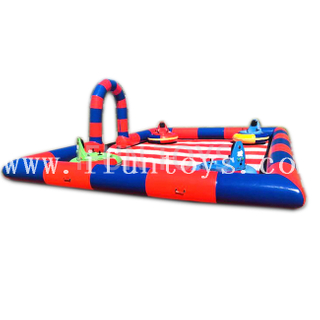 Inflatable Bumper Car Track / Inflatable Race Track for Go Kart