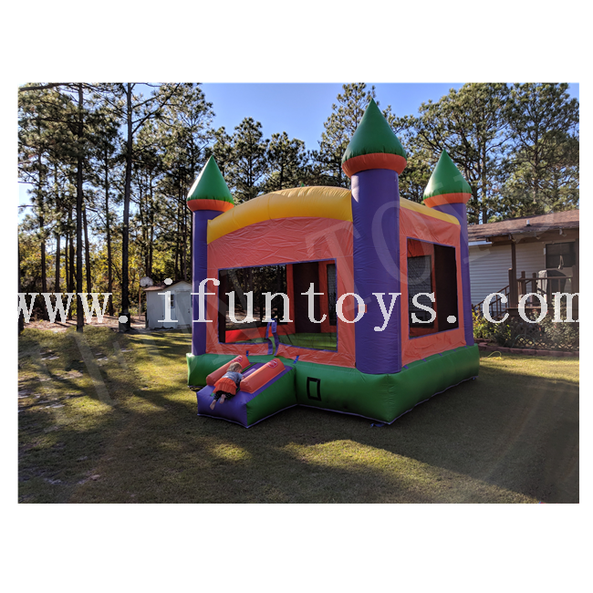 Kids Inflatable Castle Bounce House / Jumping Trampoline for Party