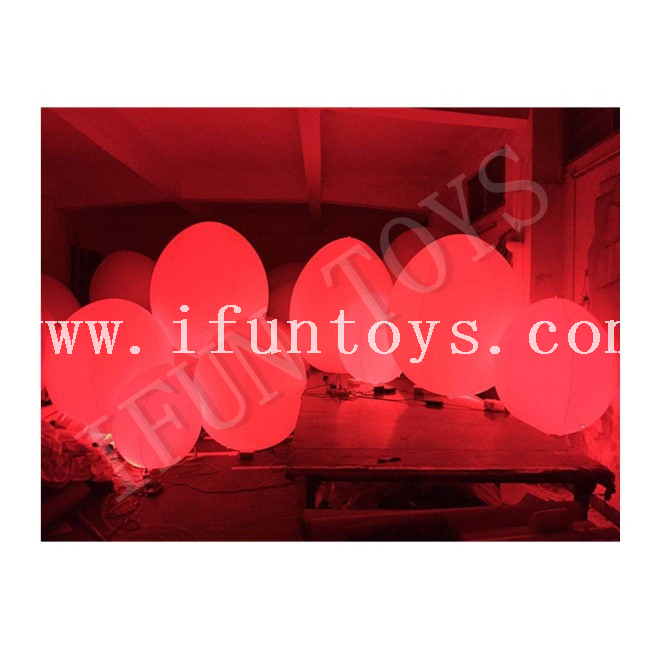 LED Lighting Inflatable Egg / Easter Eggs with Color Change Through Touch for Event