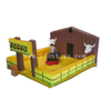 Mechanical Bull Rodeo With Inflatable Mattress /Inflatable Mechanical Bullfighting Sport Game for Kids And Adults