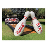 Outdoor Inflatable Bowling Alley / Human Bowling Slide / Inflatable Human Bowling Ball Set Game for Kids And Adults