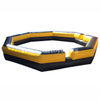 Portable 6*6 meters Inflatable Gaga Ball Pit Game / gaga rings for kids