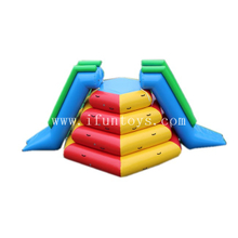 Outdoor Inflatable Water Park Games Mini Aqua Park Slides for Kids