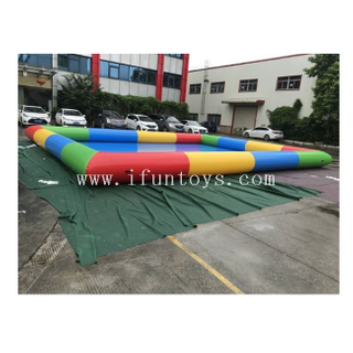 Giant Inflatable Rectangular Pool /Rainbow Inflatable Swimming Pool / Inflatable Water Walking Ball Pool for Sale