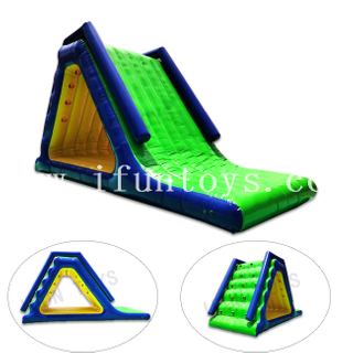 Aqua Park Inflatable Floating Slide / Pool Water Slide for Kids and Adults
