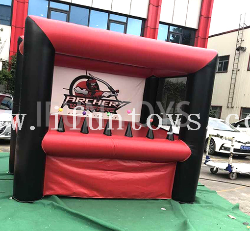 Safety Inflatable Interactive Archery Range Game with Hover Balls / Archery Target Game for Kids And Adults