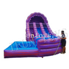 Inflatable Curve Water Slide / Inflatable Waterslide with Pool for Sale