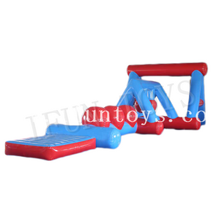 Pool Toys Inflatable Floating Obstacle Water Park Challenge Game for Kids And Adults