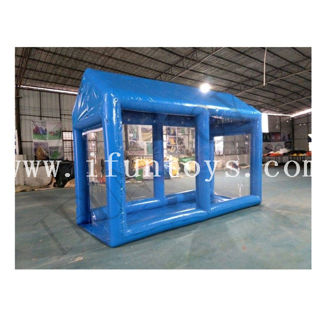 Inflatable Sterilization Tunnel / Decontamination Tent / Disinfection Shed for Mall Entrance