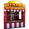 Portable Inflatable Ticket Booth / Outdoor Concession Stand / Carnival Treat Shop Inflatable for Sale