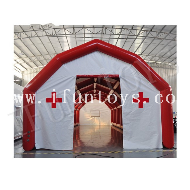 Outdoor Inflatable Emergency Mobile Hospital / Medical Tent for Epidemic