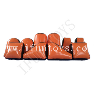 Inflatable Paintball Barriers / Inflatable Air Bunker / Speedball Bunker Barriers For Archery Shooting Game