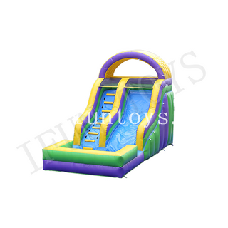 Outdoor Inflatable Water Slide / Inflatable Slip Slide with Pool for Kids