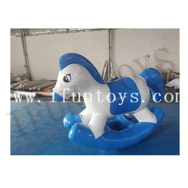 Lovely Inflatable Pony Horse / Cockhorse / Rocking Horse For Party