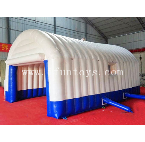 Giant PVC Tarpaulin Exhibition Inflatable Sport Tennis Court Tents Arch Advertising