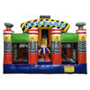 High quality little builder inflatable spacewalk bouncing bouncer castle slide combo playground for kids