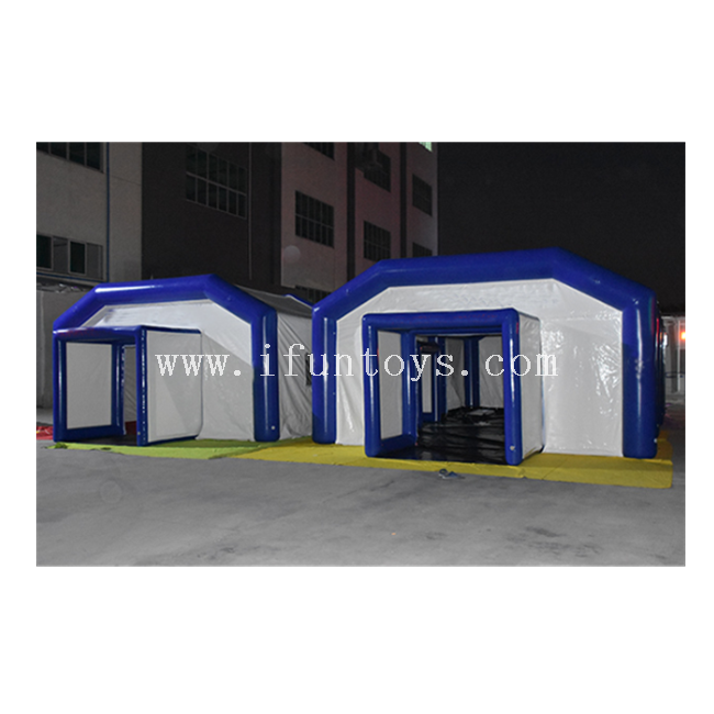 Air Sealed Inflatable Hospital Medical Tent /Outdoor Inflatable Emergency Air Shelters /Inflatable Army Military Tent