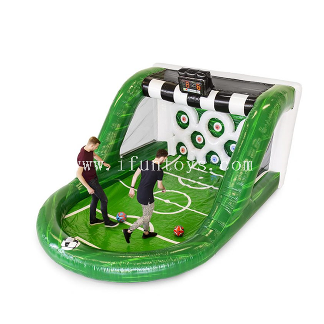 Interactive Play System IPS Inflatable Football Game /inflatable football shooting game/inflatable football goal for sale