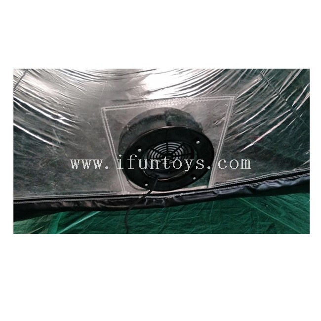 Outdoor Inflatable Car Tent / Portable Inflatable Car Capsule / Waterproof Inflatable Car Showcase