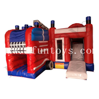 Inflatable Truck Bouncer / Inflatable Jumping Castle with Slide / Air Bouncer Inflatable Trampoline for Kids