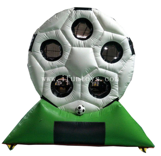 Customized Carnival Sport shooting Games/ Inflatable Football Goal/ Inflatable Soccer Goal Post For Sale