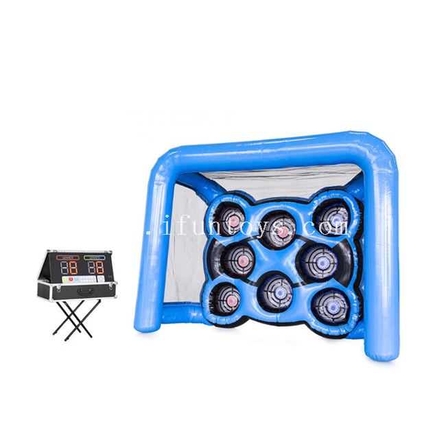 Interactive inflatable archery target/ inflatable archery range/ Inflatable IPS Archery Shooting Game For Kids and Adult