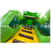 Outdoor Inflatable Amusement Park / Inflatable Funcity Jungle Jumping Bouncy Combo with Slide