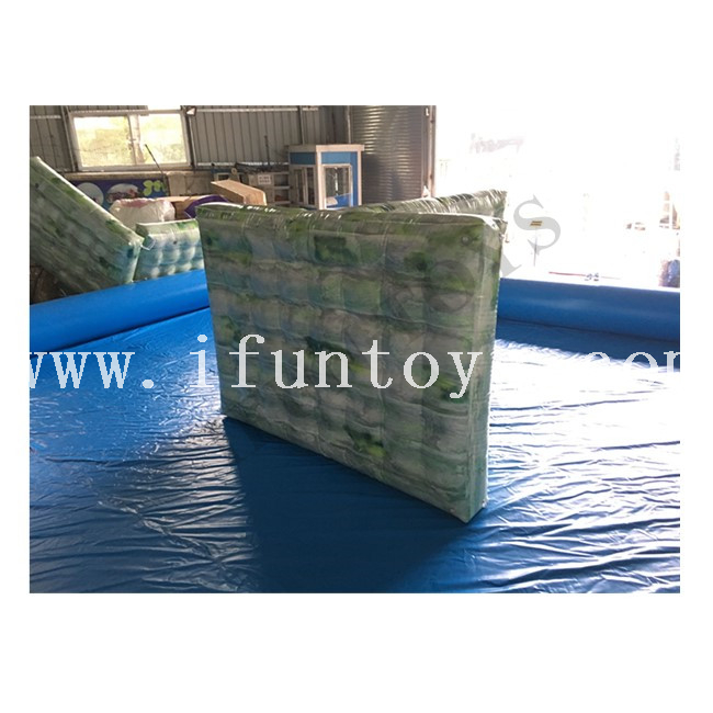 Inflatable Speedball Bunker / Inflatable Bunkers for Paintball / Airsoft Inflatable Paintball Wall for Archery Shooting Game