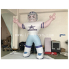 3m Tall Inflatable Football Player / NFL Inflatable Bubba Player / Giant Inflatable Soccer Player Model for Advertising