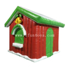 Inflatable Christmas House / Inflatable Santa Claus House / Inflatable Santa's Grotto Tent for Xmas Decor