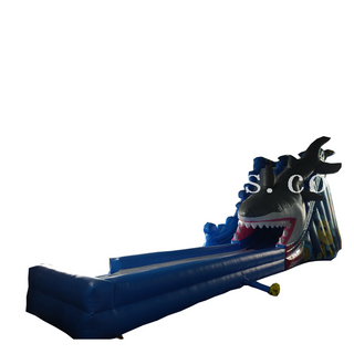 Commercial used adult and kids inflatable shark water slide/inflatable slip n slide/inflatable dry slide for sale