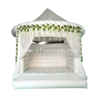 Inflatable Wedding Bouncer / White Jumping Castle for Wedding / Inflatable Bridal Bouncy House